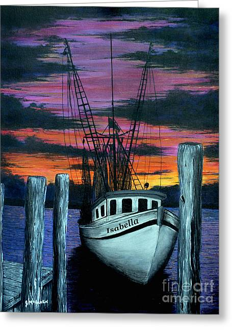 Gloaming Paintings Greeting Cards - The Gloaming Greeting Card by Jeff McJunkin