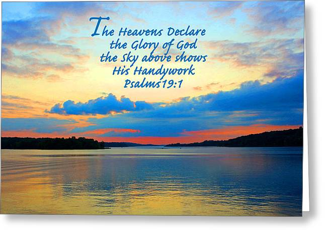 Faa Featured Greeting Cards - The Glory of God Greeting Card by Lorna Rogers Photography