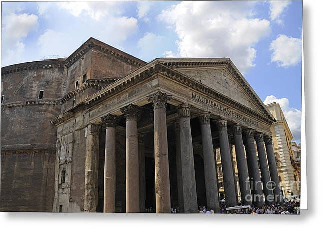 The Glory That Is Rome Greeting Card by Brenda Kean