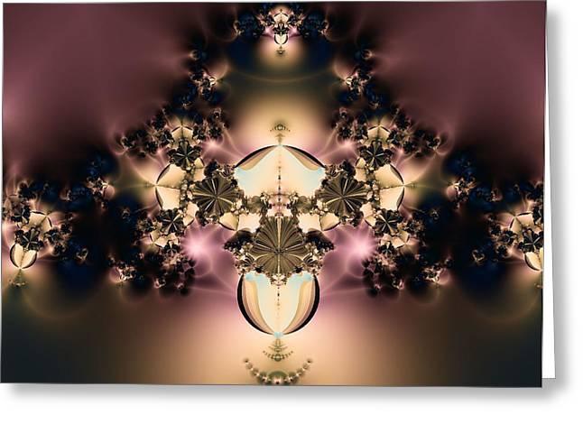 Rhonda Barrett Greeting Cards - The Glow Within Greeting Card by Rhonda Barrett