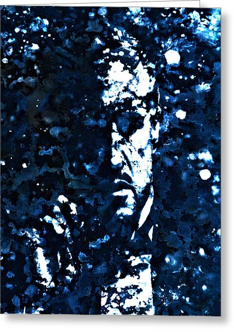 Richard Conte Greeting Cards - The Godfather 1c Greeting Card by Brian Reaves