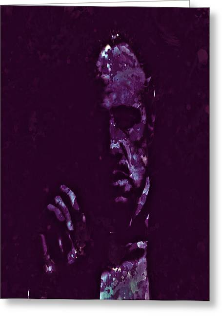 Richard Conte Greeting Cards - The Godfather 2a Greeting Card by Brian Reaves