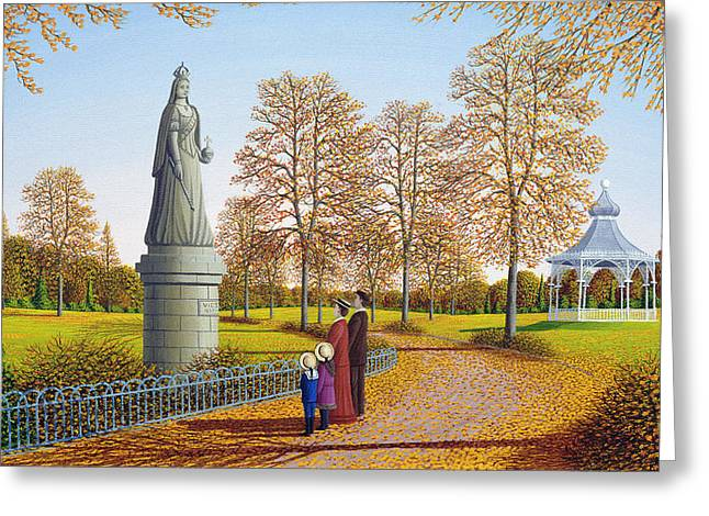 Bandstand Greeting Cards - The Golden Years, 1996 Greeting Card by Peter Szumowski