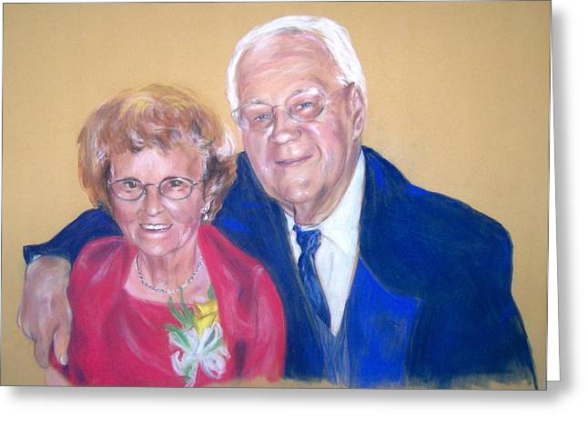 Together Pastels Greeting Cards - The Golden Years Greeting Card by Martha Suhocke
