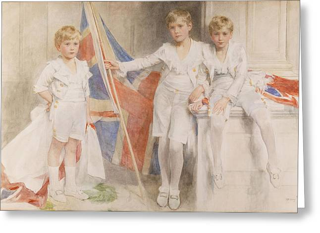 Summer Dresses Greeting Cards - The Gow Brothers, 1914 Greeting Card by Mary L. Gow