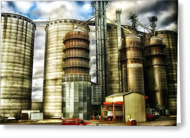 Grain Mill Greeting Cards - The Grain Mill Greeting Card by Mountain Dreams