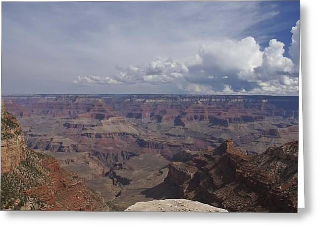 Looking At The Past Greeting Cards - The Grand Canyon Greeting Card by Brian Kamprath