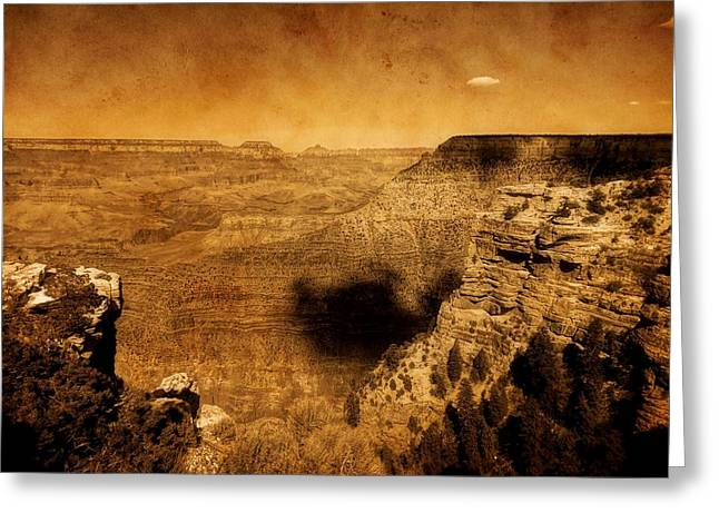 Wonders Of Nature Greeting Cards - The Grand Canyon Greeting Card by Dan Sproul