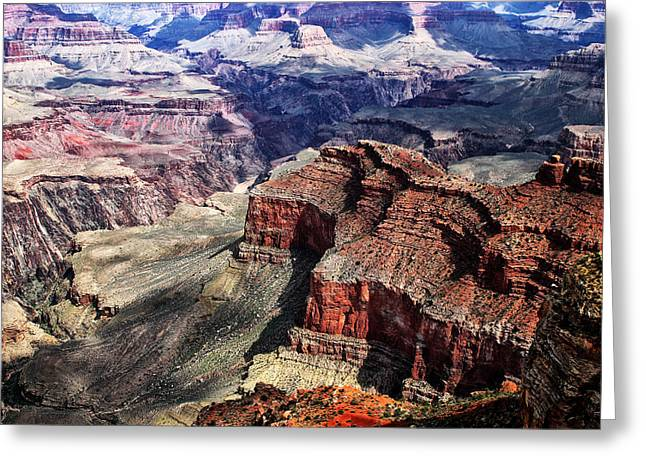 The Grand Canyon Greeting Cards - The Grand Canyon V Greeting Card by Tom Prendergast