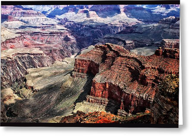 The Grand Canyon V Greeting Card by Tom Prendergast