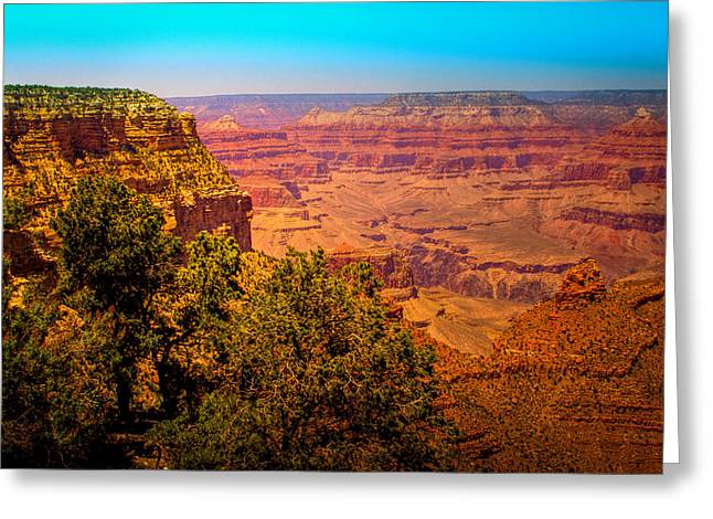 Hdr Landscape Greeting Cards - The Grand Canyon XI Greeting Card by David Patterson