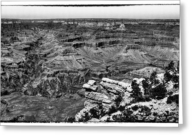Black Lodge Greeting Cards - The Grand Canyon XIII Greeting Card by David Patterson