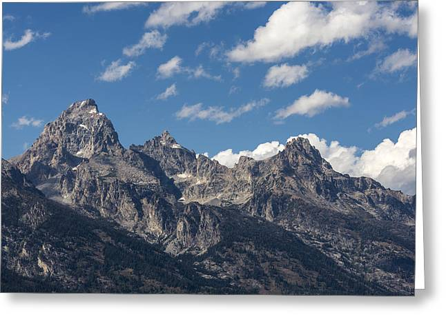 Rocky Mountain National Park Posters Greeting Cards - The Grand Tetons - Grand Teton National Park Wyoming Greeting Card by Brian Harig