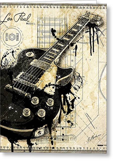 Guitar Digital Greeting Cards - The Granddaddy Greeting Card by Gary Bodnar