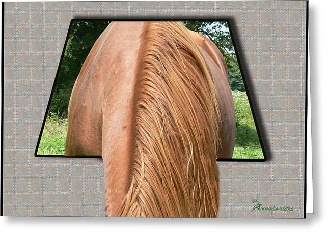 Oof Greeting Cards - The Grass IS Greener on the Other Side Greeting Card by EricaMaxine  Price