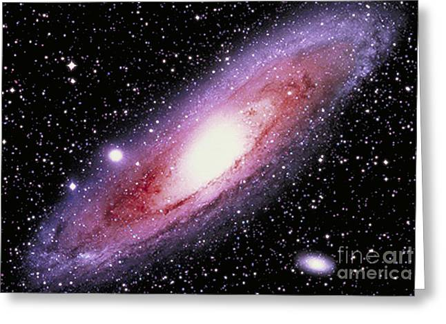 Andromeda Galaxy Greeting Cards - The Great Andromeda Galaxy Greeting Card by John Chumack