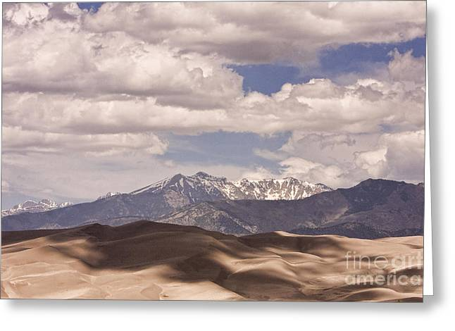 Colorado Sand Dunes Greeting Cards - The Great Colorado Sand Dunes 38 Greeting Card by James BO  Insogna