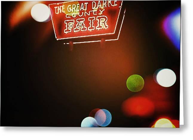 Natasha Marco Greeting Cards - The Great Darke County Fair Greeting Card by Natasha Marco