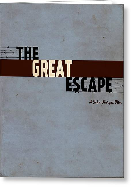 Donald Greeting Cards - The Great Escape Greeting Card by Ayse Deniz
