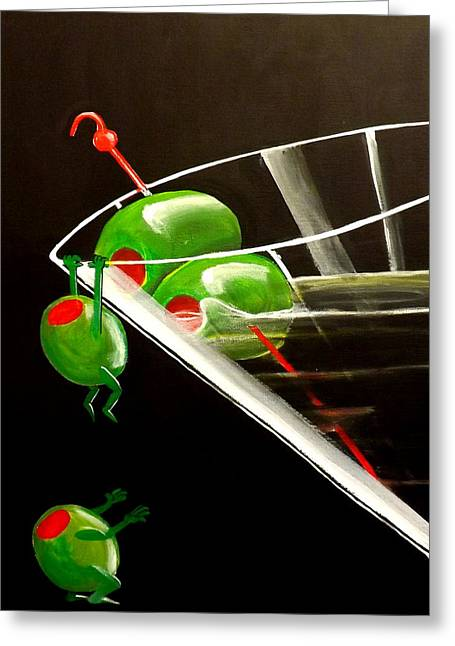 Fantasy Realistic Still Life Greeting Cards - The Great Escape Greeting Card by Darren Robinson