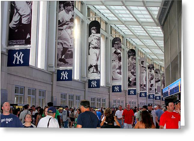 Yogi Berra Greeting Cards - The Great Hall Greeting Card by Aurelio Zucco