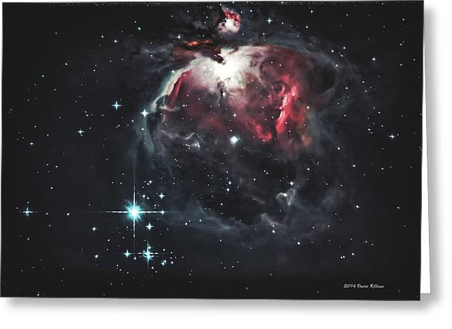 Deepsky Greeting Cards - The Great Orion Greeting Card by Dexter Killman