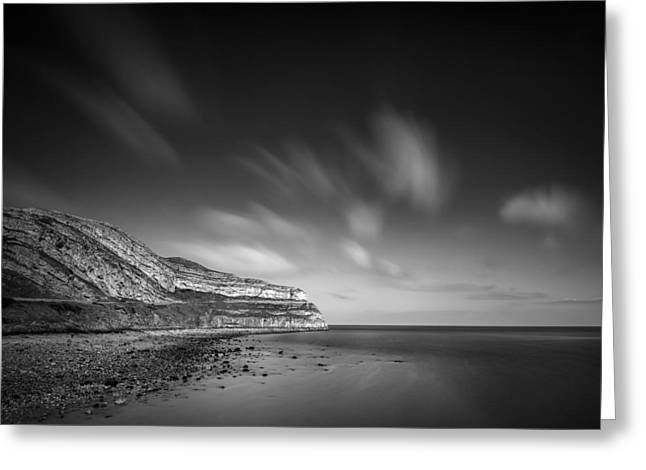 Headlands Greeting Cards - The Great Orme Greeting Card by Dave Bowman