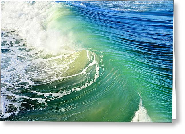 Surfing Art Greeting Cards - The Great Wave Greeting Card by Laura  Fasulo