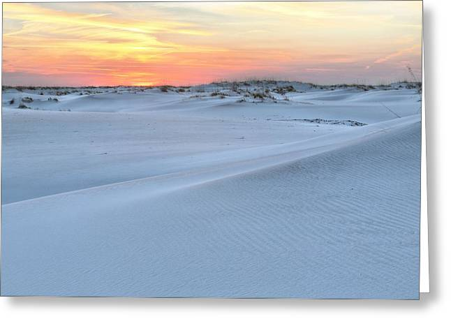 Florida Panhandle Greeting Cards - The Greater Destin Metropolitan Area Greeting Card by JC Findley