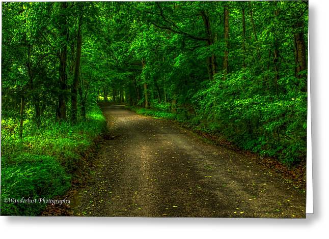 The Green Mile Greeting Card by Paul Herrmann