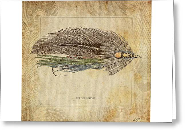Fishing Creek Digital Greeting Cards - The Grey Ghost Greeting Card by Craig Tinder