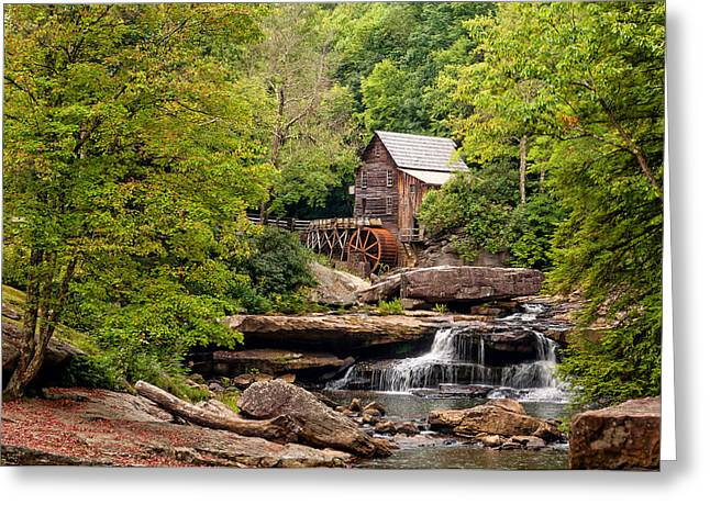 The Grist Mill Greeting Card by Steve Harrington