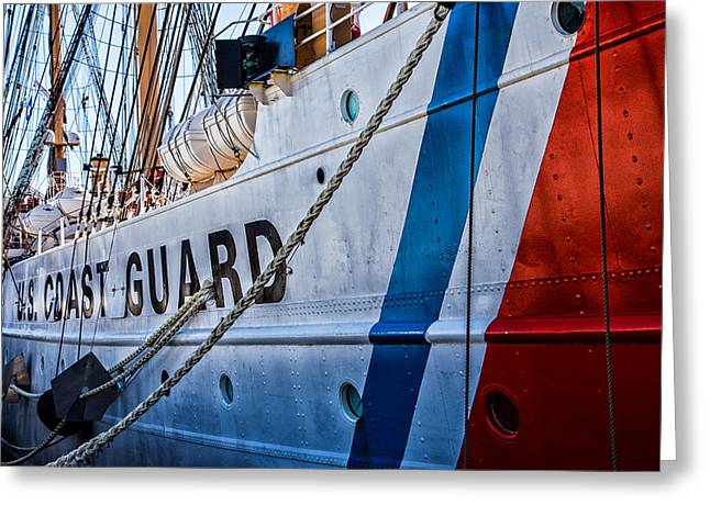 New England Coast Line Greeting Cards - The Guard  Greeting Card by Karol  Livote