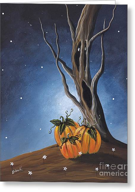 Fantasy Art Greeting Cards - The Guardian by Shawna Erback Greeting Card by Shawna Erback