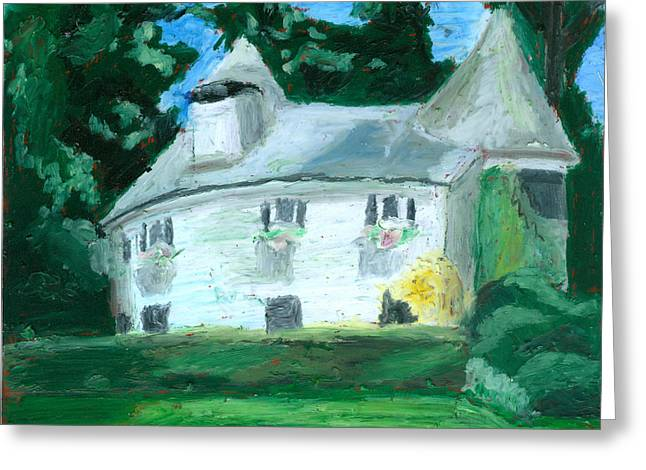 Cohasset Greeting Cards - The Guest House Greeting Card by Dominic White