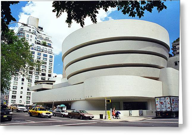 The Guggenheim Greeting Cards - The Guggenheim Greeting Card by Allen Beatty