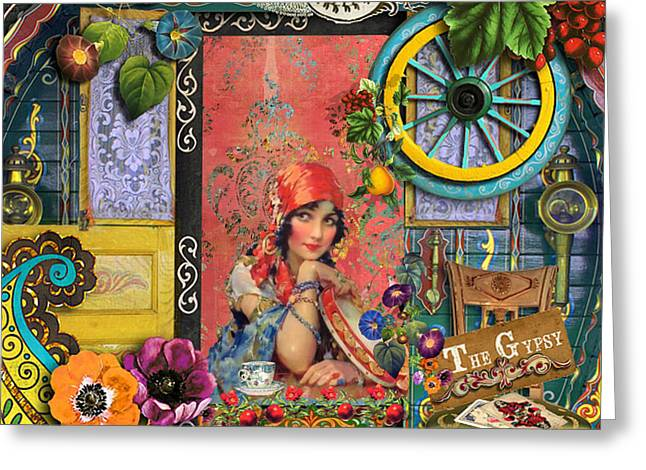 Recently Sold -  - Gypsy Greeting Cards - The Gypsy Greeting Card by Laura Botsford