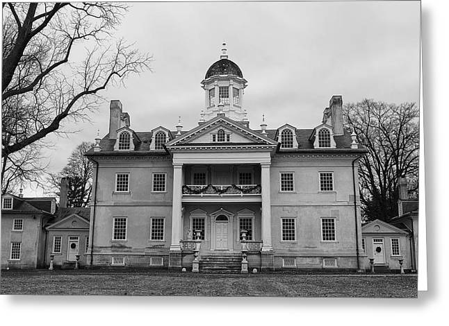 Historic Home Greeting Cards - The Hamilton Mansion in Maryland Greeting Card by Mountain Dreams