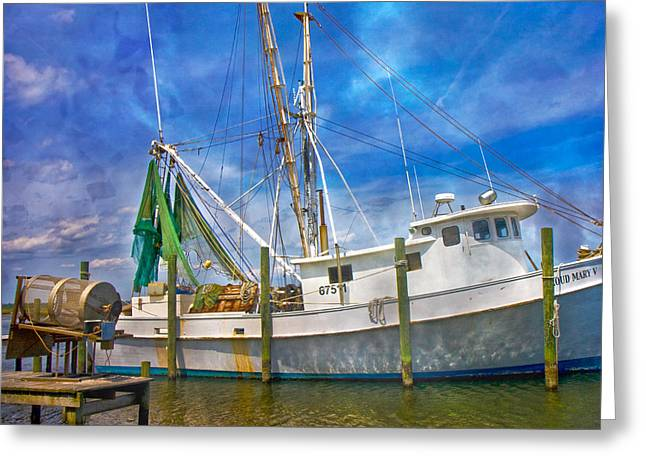 The Harbor II Greeting Card by Betsy A  Cutler