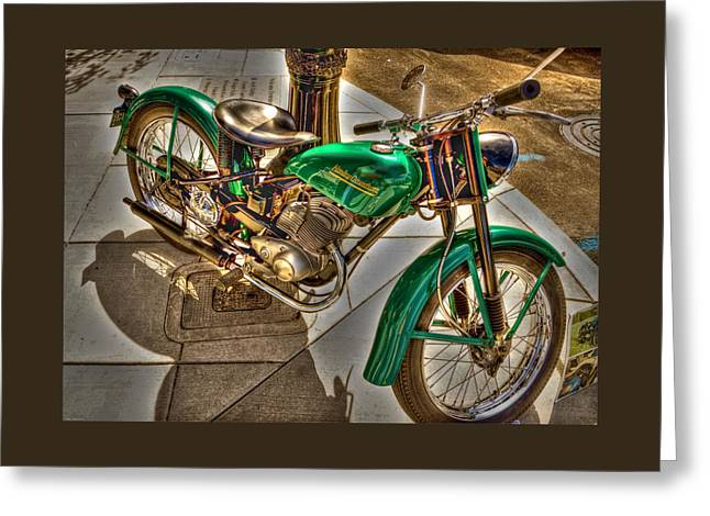 Photo Art Gallery Greeting Cards - The Harley Greeting Card by Thom Zehrfeld