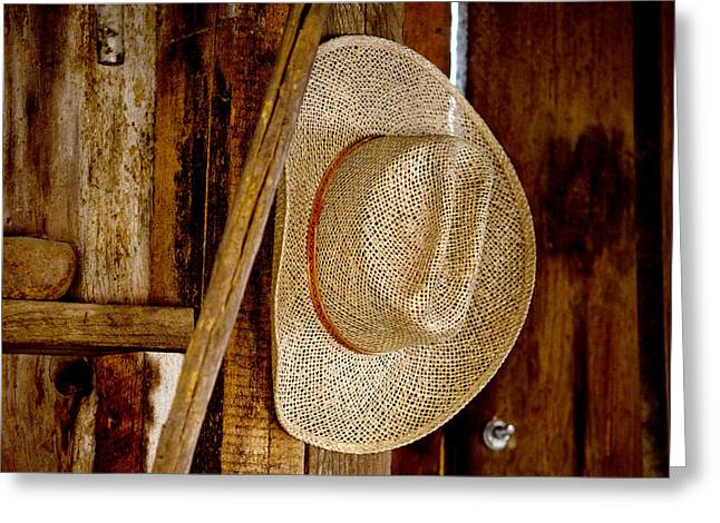 Apparel Greeting Cards - The Hat Greeting Card by Art Block Collections