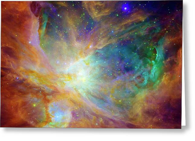 Hubble Photographs Greeting Cards - The Hatchery  Greeting Card by The  Vault - Jennifer Rondinelli Reilly