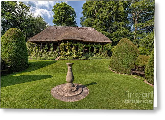 Thatch Digital Greeting Cards - Thatched Cottage Greeting Card by Adrian Evans