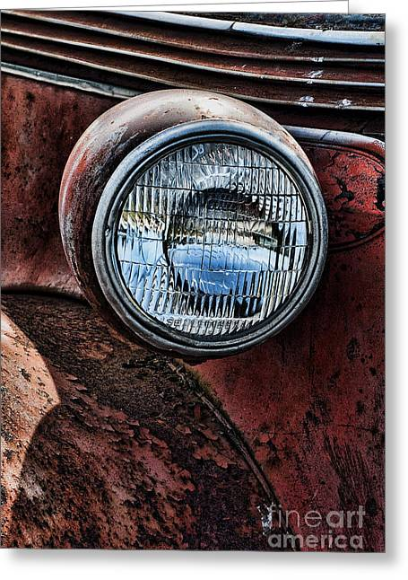 Ron Roberts Photography Greeting Cards Greeting Cards - The Headlight Greeting Card by Ron Roberts