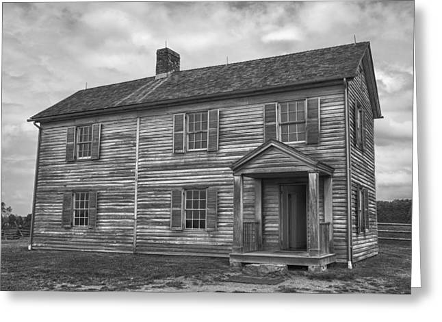 Battlefield Site Greeting Cards - The Henry House Greeting Card by Guy Whiteley