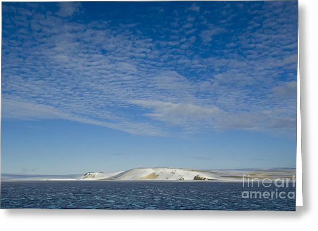 Arctic Circle Greeting Cards - The High Arctic Greeting Card by John Shaw