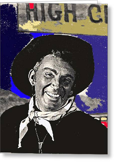 Cameron Mitchell Photographs Greeting Cards - The High Chaparral Cameron Mitchell publicity photo number 1 Greeting Card by David Lee Guss