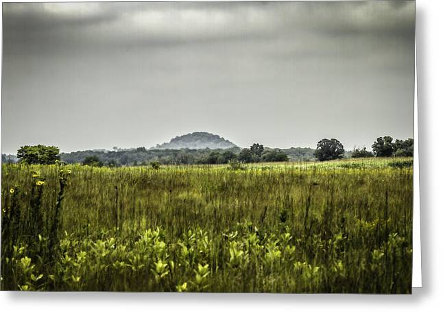 Kettle Moraine Greeting Cards - The Hill Greeting Card by Thomas Young