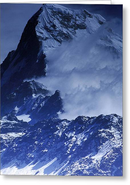 The Great Outdoors Greeting Cards - The Himalayas Greeting Card by Anonymous