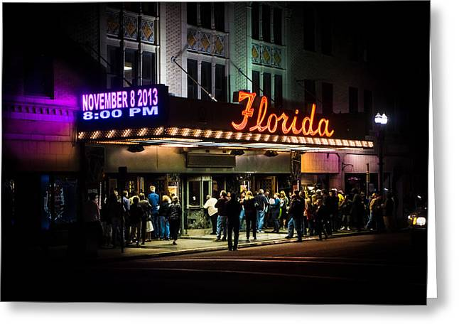 Jacksonville Greeting Cards - The Historic Florida Theatre Greeting Card by Monica Stouder